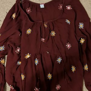 Boho old Navy shirt